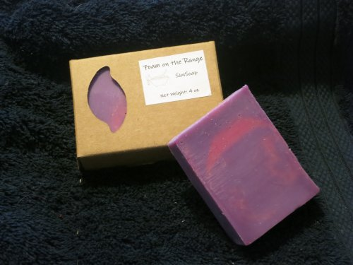 Pomegranate & Black Currant Sunsoap