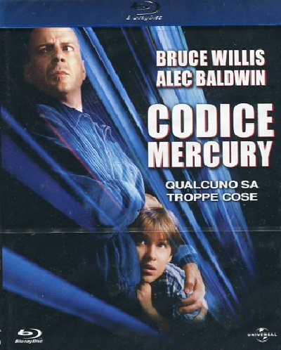 Codice Mercury [Blu-ray] [IT Import]