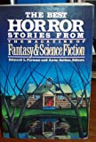 img - for The Best Horror Stories from the Magazine of Fantasy and Science Fiction book / textbook / text book
