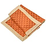 SS Sales Hydro Cotton Bed Runner (24 X 84 Cms, Orange)