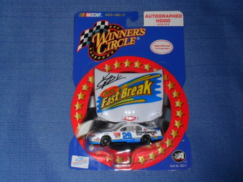 Kevin Harvick #29 GM Reeses Fast Break FastBreak Goodwrench Service Plus 1/64 Scale Diecast With Bonus Matching Magnet Hood Winners Circle With Rookie Stripes