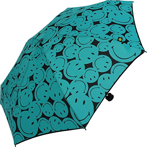 smiley-super-mini-taschenschirm-damen-more-smile-turquoise