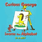 Curious George Learns the Alphabet Audiobook by Margret Rey, H. A. Rey Narrated by  uncredited