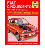 Fiat Cinquecento Service and Repair Manual (Haynes Service and Repair Manuals) Steve Rendle