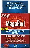 Mega Red Omega-3-Krill Öl Extra 500mg 20er, 1er Pack (1 x 15 g)
