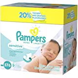 Pampers Sensitive Wipes 9x Refill Pack, 576-Count