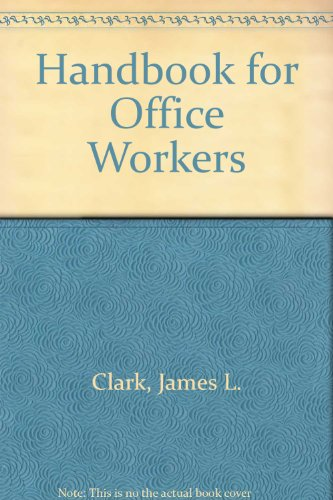 Image for Handbook for Office Workers