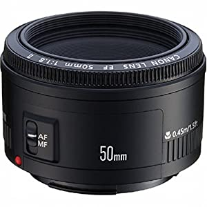 Canon EF 50mm f/1.8 II Standard AutoFocus Lens - Direct Import (Gray Market)