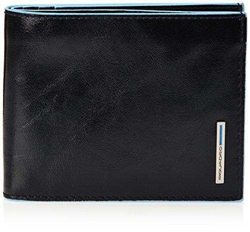 Piquadro PU1241B2 Portafoglio, Collezione Blu Square, Blu