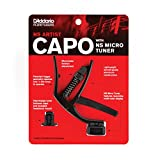 Planet Waves by D'Addario プラネットウェーブス カポタスト NS Artist Capo with NS Micro Headstock Tuner PW-CP-10NSM 【国内正規品】
