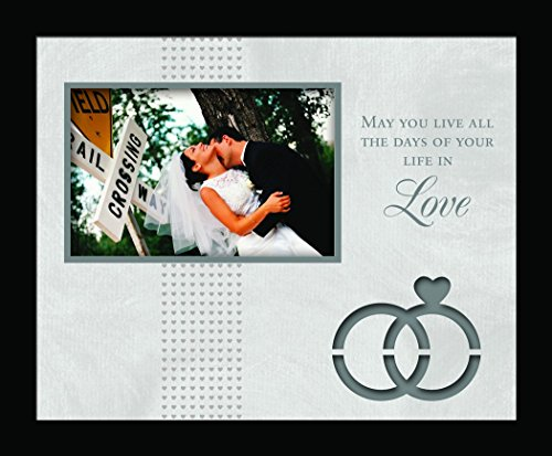 Havoc Gifts 6565-4 Wedding Die Cut Frame, 9.5 by 11.5 Inch