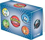 Pokemon Generic Art Accessories Bundle (Deck Box, 4-Pocket Portfolio & Deck Protectors 50)