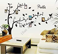 2015 Black can remove memory tree photo wall stickers home decoration vinilo wall stickers for kids