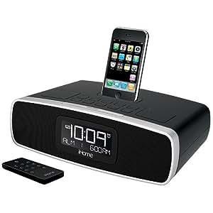 ipod iphone dual alarm clock radio mp3 players accessories. Black Bedroom Furniture Sets. Home Design Ideas