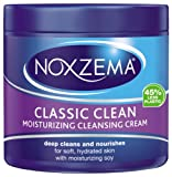 Noxzema Classic Clean Moisturizing Cleansing Cream 12 Ounce Plastic (Pack of 6)