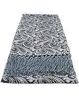 Narrow All Over Paisley Silk Scarves