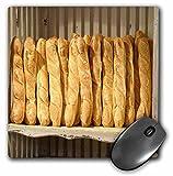 Danita Delimont - France - France, Provence, Cote dAzur, Roussillon. Fresh baguettes - MousePad (mp_227304_1)