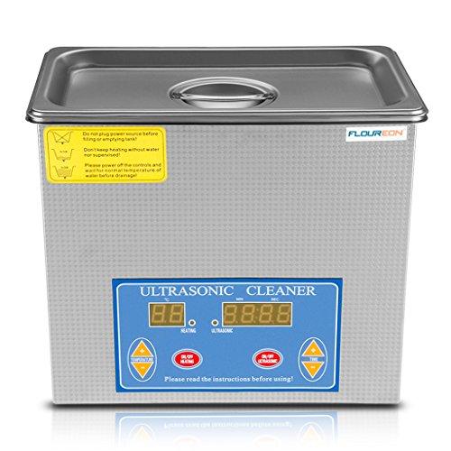 FlOUREON® 3L Ultraschallreiniger Digital Anzeige Ultraschallreinigungsmittel Digitalanzeige Ultraschallreinigung Ultra Reinigungsgerät Cleaner