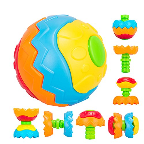 Fajiabao Fun Multivariant Ball Baby Crawling Ball Creative Assembles Toy Educational Toys Puzzle Ball Changeable Toy - 1