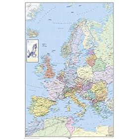 Europe Map 500