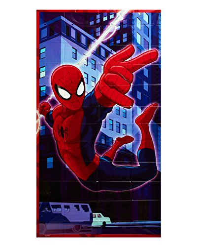Spider-Man Door Cover, Party Supplies