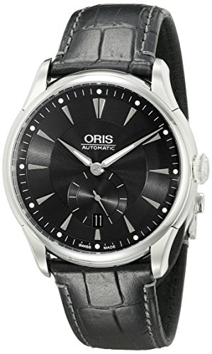 Oris-Mens-623-7582-4074-LS-Artelier-Analog-Display-Automatic-Self-Wind-Black-Watch