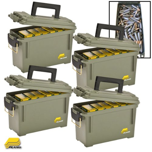 Plano Ammo Can- OD Green (CASE/4) (Ammo Cans Plano compare prices)