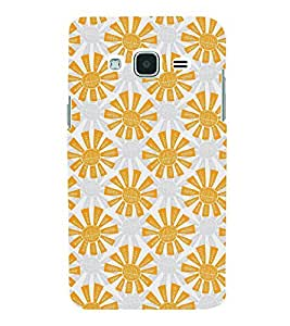 VINTAGE ANIMATED FLORAL PATTERN 3D Hard Polycarbonate Designer Back Case Cover for Samsung Galaxy J2 (2016)