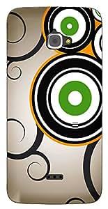 TrilMil Printed Designer Mobile Case Back Cover For InFocus M350