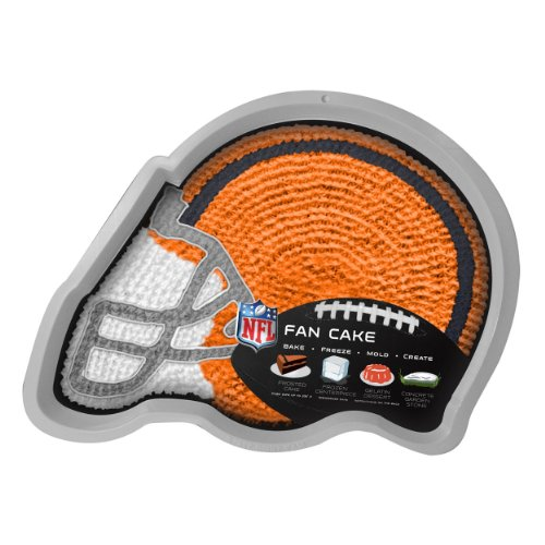NFL Cleveland Browns Fan Cakes Heat Resistant CPET Plastic Cake Pan (Cold Cake Display compare prices)