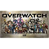Overwatch Collectible Metal Art Plate