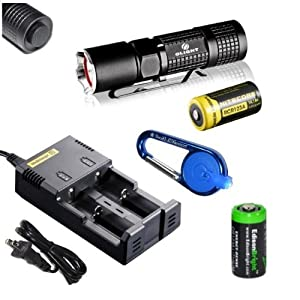 Olight M10 Maverick Cree XM-L2 350 Lumens tactical LED Flashlight with Genuine... by Olight