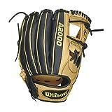 Wilson A2000 Infield Baseball Mitt, Blonde/Black SS, Right Hand Throw, 11.75-Inch, 11.75 inches/Blonde/Black SS