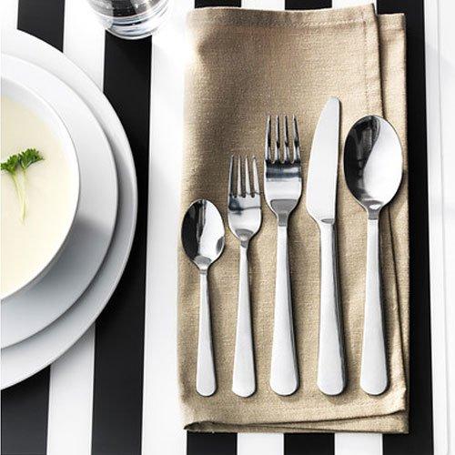Ikea - Dragon 20-Piece Flatware Set, Stainless Steel