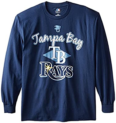MLB Tampa Bay Rays Men's 58T Long Sleeve Tee