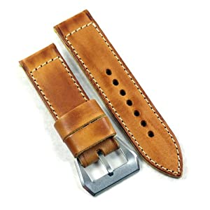 Mario Paci Special Edition the Olterra strap for Panerai 24/24 125/80 from watchmaker Mario Paci