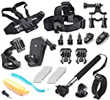 Soft Digits® Accessories Accessory Kit Bundle Kit for Gopro Hero 4/3+/3/2/1