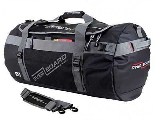 OverBoard Adventure - Borsone sportivo impermeabile, 60 l, colore nero