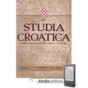 Studia Croatica - nmeros 118-119 - 1990 (Spanish Edition)