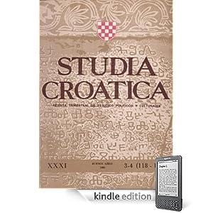 Studia Croatica - números 118-119 - 1990 (Spanish Edition)