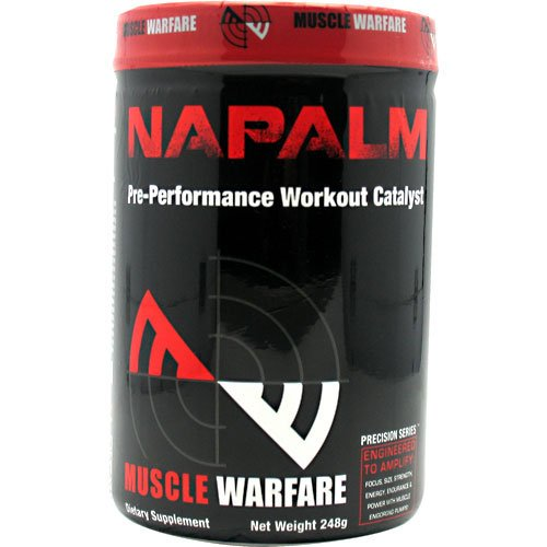 Muscle Warfare New Precision Series Napalm 45 Servings (Raspberry Nectar)
