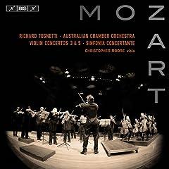Mozart: Violin Concertos Nos. 3 and 5