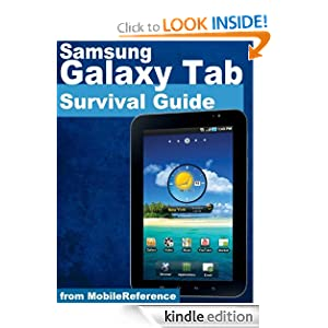 Samsung Galaxy Tab Survival Guide - Step-by-Step User