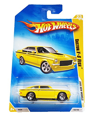 Hot Wheels 2009 New Models Custom V-8 Vega 1:64 Scale - 1