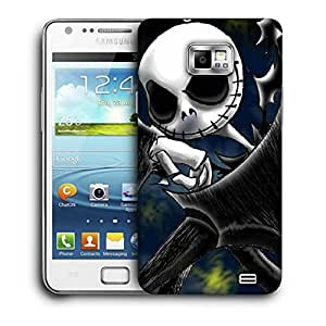 Snoogg Naughty Ghost Printed Protective Phone Back Case Cover For Samsung Galaxy S2 / S II