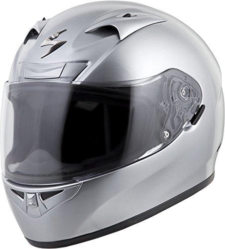 Scorpion EXO-R710 Solid Street Motorcycle Helmet (Silver, Large)