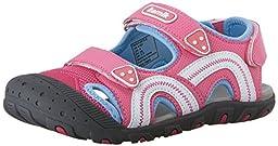 Kamik Sea Turtle Sandal (Toddler/Little Kid/Big Kid), Pink, 6 M US Big Kid