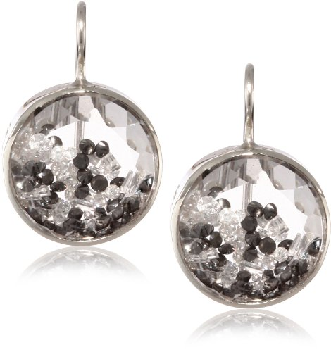 Moritz-Glik-Kaleidoscope-18K-and-14k-White-Gold-Floating-Black-and-White-Diamond-and-Sapphire-Earrings