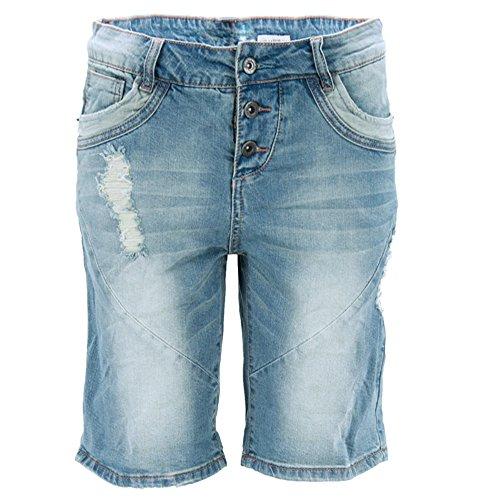 fresh made boyfriend jeans bermuda jeans shorts used. Black Bedroom Furniture Sets. Home Design Ideas