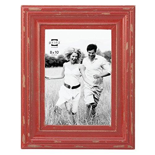 "Prinz Carson Wood Frame, 8 x 10"", Red 0"